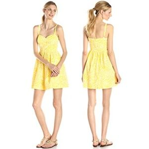 Lilly Pulitzer Christine Sunglow Yellow Sundress